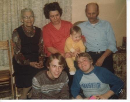 John Trapp and family
